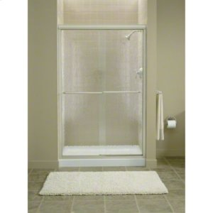 "Finesse™ Sliding Shower Door with Quick Install™ Mounting System - Height 70-5/16"", Max. Opening 45-1/2"" - Deep Bronze Product Image"