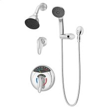 Symmons Visu-Temp® Shower/Hand Shower System - Polished Chrome