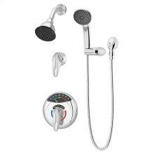 Symmons Visu-Temp® Shower/Hand Shower System - Polished Chrome