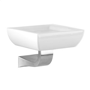 SPECIAL ORDER Wall-mounted soap dish in ceramic Product Image