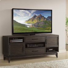 Vogue - 66-inch TV Console - Umber Finish