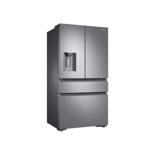 4-Door French Door Counter Depth Refrigerator in Stainless Steel