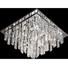 Flush Mount, Chrome/crystal Deco., Type Jc/g4 20wx9 Product Image