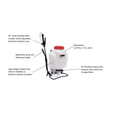 ECHO MS-41BP 4 gallon Commercial-Grade Manual Backpack Sprayer