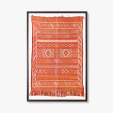 0300980010 Handwoven Textile Wall Art
