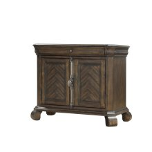 Emerald Home B553-03 Knoll Hill Nightstand Walnut Brown B553-03