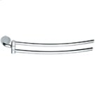 Hinged Towel Rail - Chrome Product Image