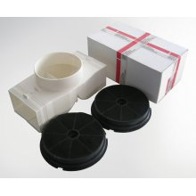 Recirculation kit for all model XOS - includes parts for initial installation and two XORFND activated carbon filter elements.
