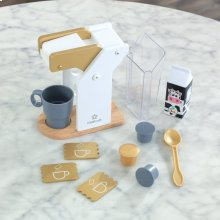 Modern Metallics Coffee Set
