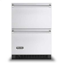 """Stainless Steel 24"""" Refrigerated Drawers - VURD (Professional model)"""
