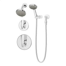 Symmons Naru® Shower/Hand Shower System - Polished Chrome
