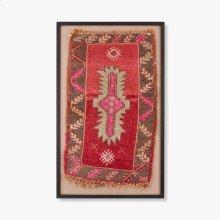 0300980021 Vintage Anatolian Rug Wall Art