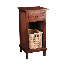 CC-CHE530S-RW-B  End Table with Basket