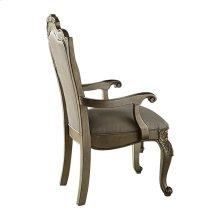 Arm Chair, Faux Silk