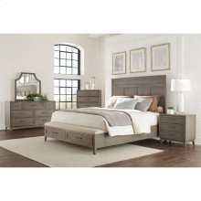 Vogue - Five Drawer Chest - Gray Wash Finish