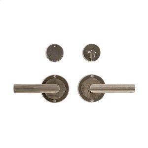 """Round Flute Entry Set - 3 1/2"""" Silicon Bronze Brushed with Basic Product Image"""