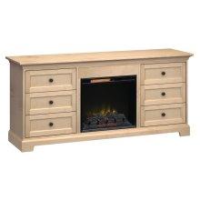 Fireplace Custom TV Console