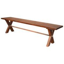 Sawbuck Bench