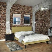 Bethany 2 Piece Queen Bedroom Set in Black Green