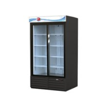 Slide door merchandisers
