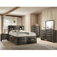Emily Night Stand Grey