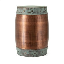 Rania Copper Plated Stool