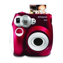 Polaroid Compact Instant Analog Camera PIC300R, Red