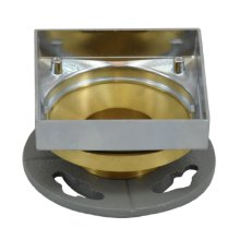 Mountain Re-Vive - Grid Holder Complete Rough (Brass NPSL Connector) - Brushed Nickel