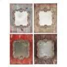 S/4 Mirror,Antiqued Frame Product Image