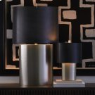 Nordic Table Lamp-Antique Nickel-Lg Product Image