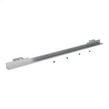 "30"" Warming Drawer Heat Deflector, Black/Stainless Steel"