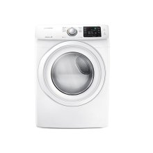 7.5 cu. ft. Electric Dryer in White