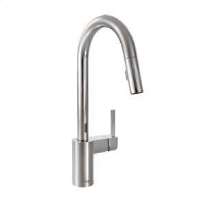 Align chrome one-handle pulldown kitchen faucet Product Image