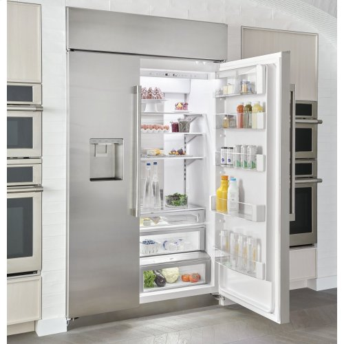 "Monogram 48"" Smart Built-In Side-by-Side Refrigerator with Dispenser"