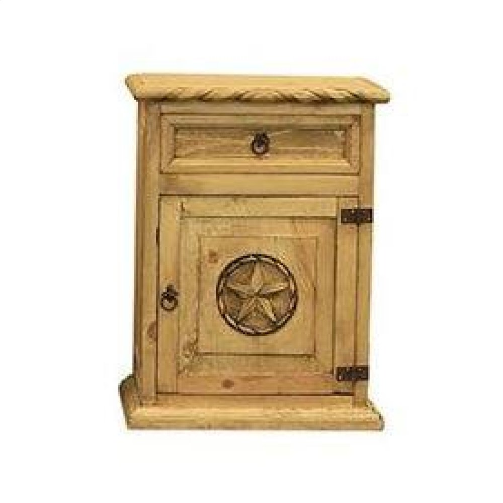 Nightstand W/Rope and Star (Right)