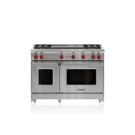"""48"""" Gas Range - 4 Burners and Infrared Dual Griddle Product Image"""