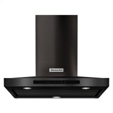 "30"" Wall-Mount, 3-Speed Canopy Hood - Black Stainless"