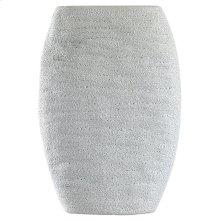 DELPHI VASE- TALL  Cream Finish on Ceramic