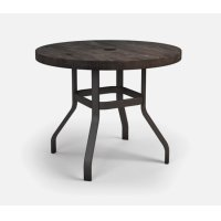 "42"" Round Balcony Table Ht: 34.25"" 37XX Universal Aluminum Base (Model # Includes Both Top & Base) Product Image"