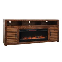 "Sausalito 78"" Fireplace Console"