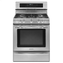 30-In. Width Freestanding Gas 5 Burners T.H.E.™ True Convection Architect® Series II