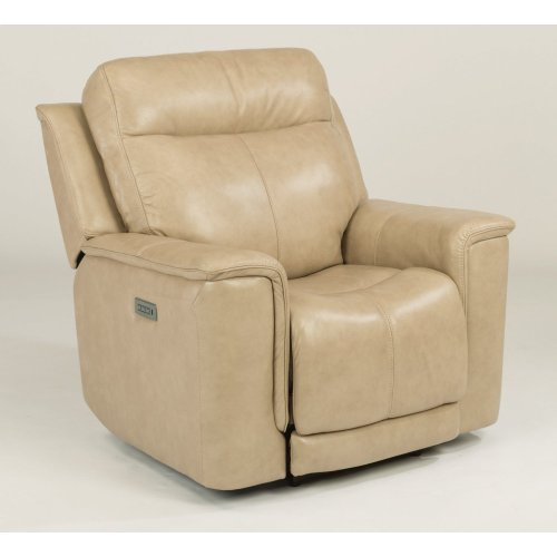 Miller Leather Power Recliner with Power Headrest
