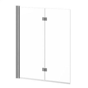 "46"" X 56"" Bathtub Pivot Doors - Chrome Product Image"