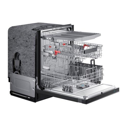 StormWash 42 dBA Dishwasher in Black Stainless Steel