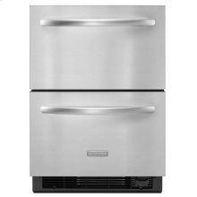 4.8 Cu. Ft. 24'' Double-Drawer Refrigerator/Freezer Combination Architect® Series II - Stainless Steel
