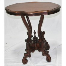Turtle Table with Wood Top