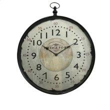 Marisol Bronze Wall Clock