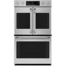 """Café 30"""" Smart French-Door, Double Wall Oven with Convection"""