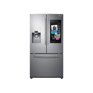24 cu. ft. Family Hub™ 3-Door French Door Refrigerator in Stainless Steel Product Image
