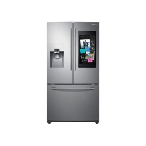 24 cu. ft. Family Hub 3-Door French Door Refrigerator in Stainless Steel Product Image